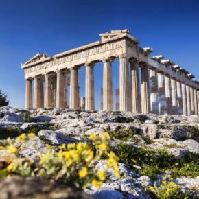 Langes Wochenende in Athen: 4 Tage Städtetrip mit zentralem Hotel inkl. Frühstück & Flug für 71€