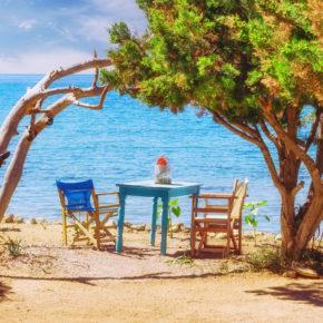 Camping am Strand: 8 Tage Griechenland im Sommer mit Zelt & Flug nur 127€