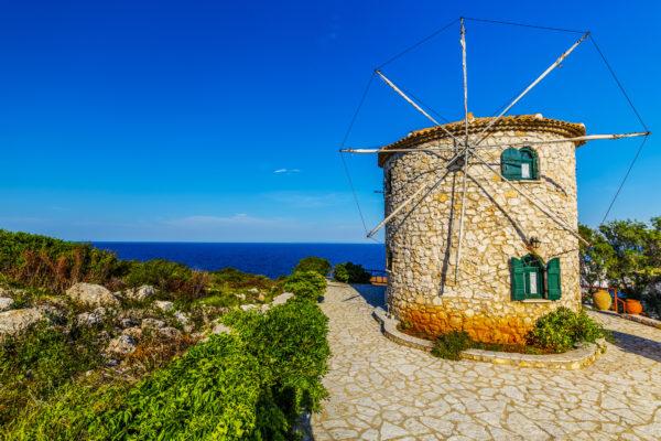 Griechenland Zakynthos Mühle