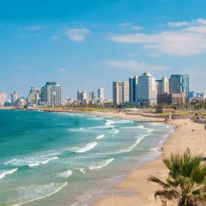 Party-Trip Tel Aviv: 3 Tage übers Wochenende mit Unterkunft, Frühstück & Flug nur 77€