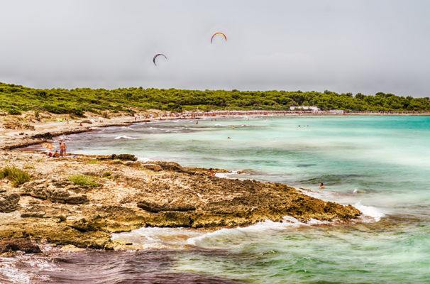 Italien Anpulien Küste