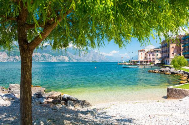Italien Gardasee Strand