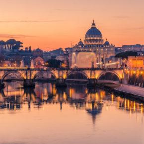 Rom am Wochenende: 3 Tage im zentralen 4* Hotel mit Frühstück & Flug nur 62€