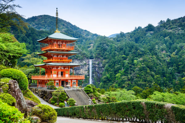 Japan Seigantojui Wasserfall