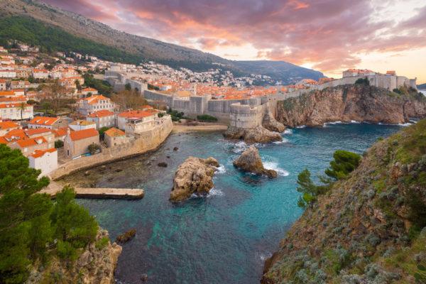 Kroatien Dubrovnik Schloss