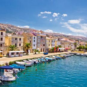Kroatien: 5 Tage auf der Insel Pag im Apartment mit Pool um 50€