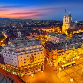 Winter-Wochenende in Kroatien: 2 Tage Zagreb in zentralem 4* Hotel nur 30€