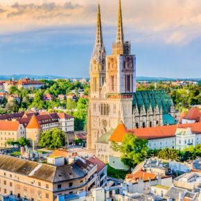 Wochenende in Zagreb: 3 Tage mit toller Unterkunft in der Altstadt nur 11€