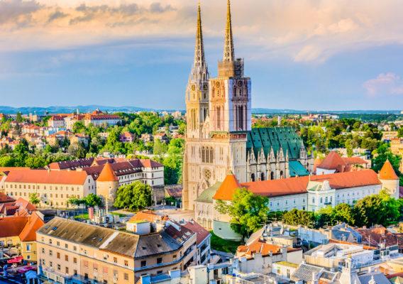 Kroatien Zagreb Kathedrale