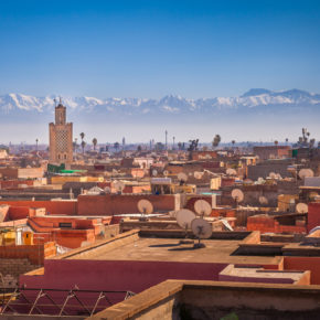 Marokko Frühbucher: 8 Tage Marrakesch mit tollem Hotel & Flug um 102€