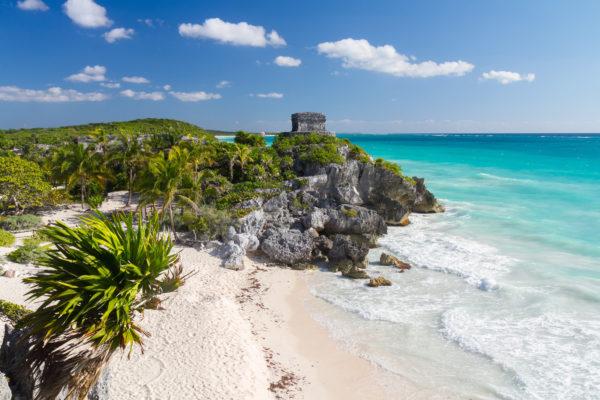 Mexiko Playa Del Carmen Küste