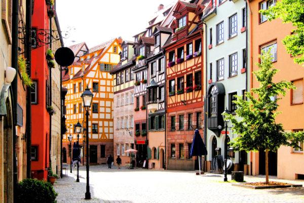 Nürnberg Altstadt Fachwerk