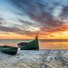 Schwimmende Häuser - 5 Tage an der Ostsee im eigenen Hausboot inkl. Sauna ab 135€
