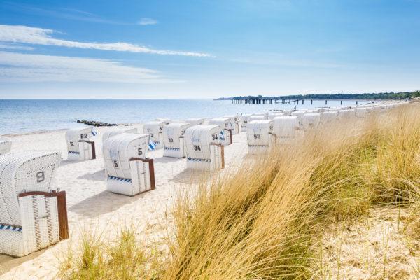 Ostsee Strandkörbe