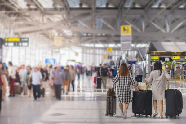 Flughafen Koffer