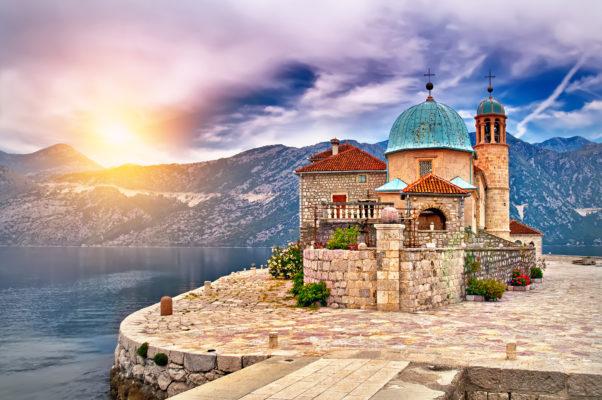Montenegro Kirche Insel