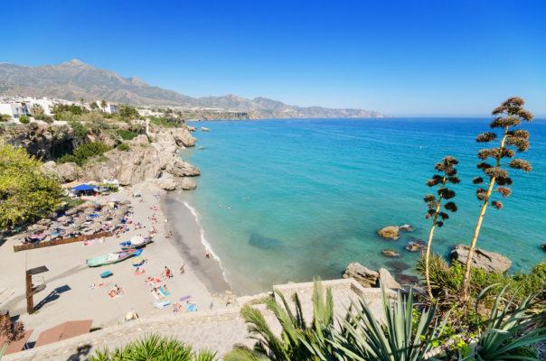 Spanien Costa del Sol Strand