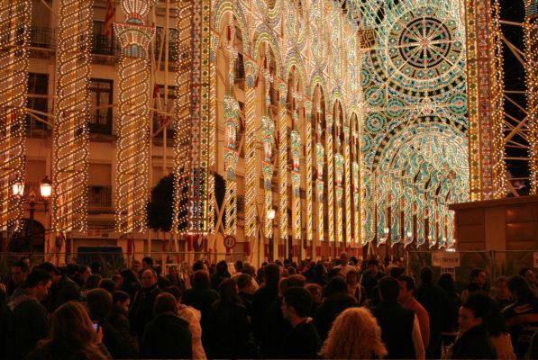 Spanien Valencia Festival