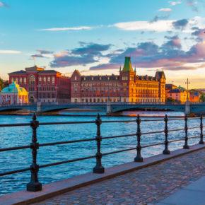 Skandinavien: Günstige Flüge nach Stockholm für 1€