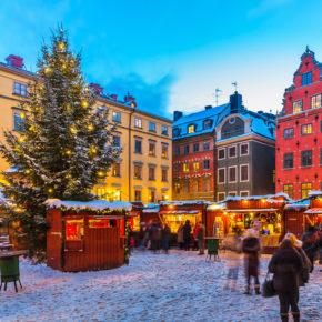 Weihnachtsmarkt-Wochenende in Stockholm: 4 Tage im zentralen 3* Yacht Hotel inkl. Frühstück & Flug nur 121€