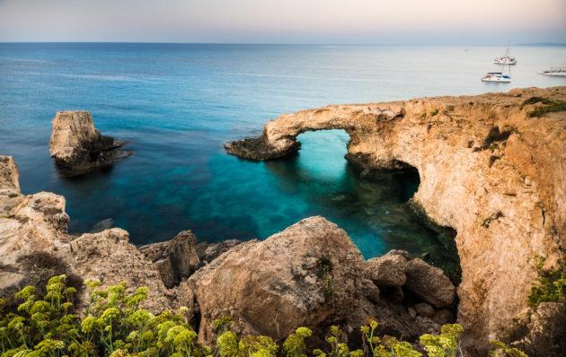 Zypern Aiya Napa Felsen Meer