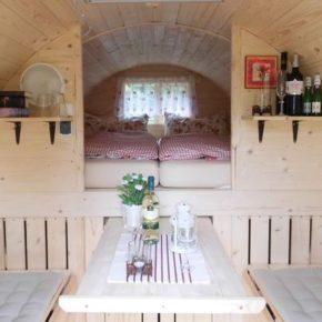 Glamping: 2 Tage in Bleckede mit Übernachtung im Holzfass inkl. Frühstück nur 39€
