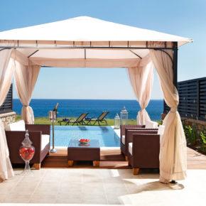Frühbucher Urlaub mit Freunden: 5 Tage Rhodos in LUXUS 4* Villa mit eigenem Pool nur 169€