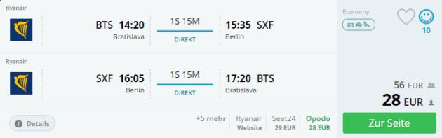 Flug Berlin Angebot