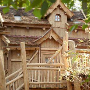 Familienspaß: 2 Tage im Baumhaus im Natur-Resort Tripsdrill mit Frühstück & Wildparadies ab 42€