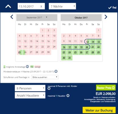 Ferienhaus Kroatien Angebot