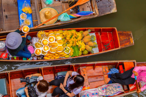 Bangkok Floating Market