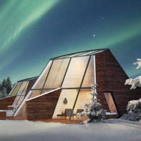 Polarlichter: 2 Tage in Finnland mit privatem TOP Glashaus, Frühstück, Whirlpool & Sauna für 324€