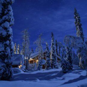 Auszeit in Lappland: 8 Tage im Blockhaus mit Sauna ab 113€ p.P.