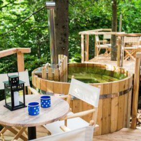 Urlaub im TOP Baumhaus mit Whirlpool: 2 Tage Slowenien mit Frühstück, Sauna & Casino ab 54€