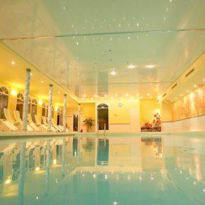 Pension Almstern indoor Pool