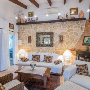 Spanien Muro Finca Wohnzimmer