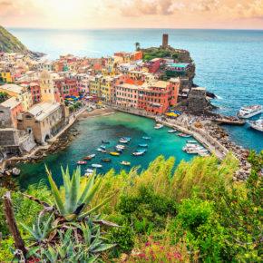 Bella Italia: 8 Tage Cinque Terre im Apartment mit Meerblick nur 75€