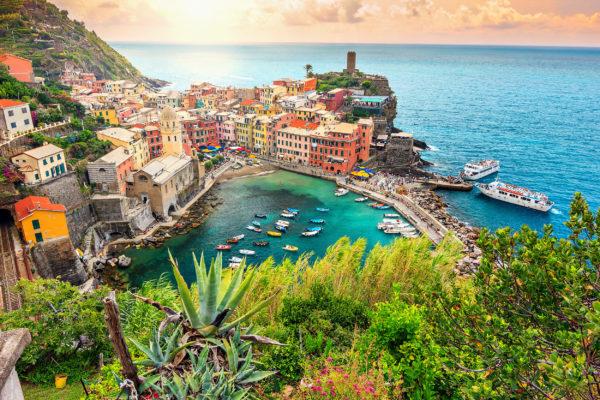 Italien Cinque Terre Abend