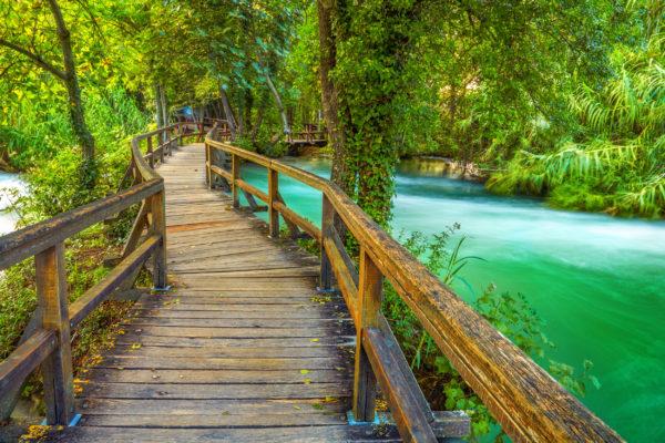 Kroatien Plitvice Holzweg