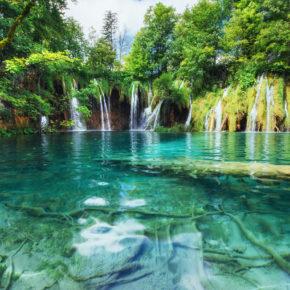 Plitvicer Seen am Wochenende: 3 Tage in TOP Unterkunft um 25€