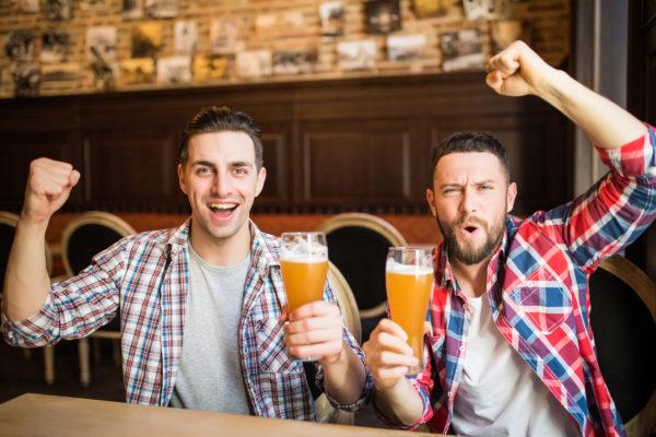 Freunde Bier Jubel