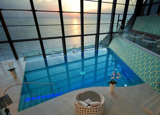 Grand Hotel Bernardin Pool
