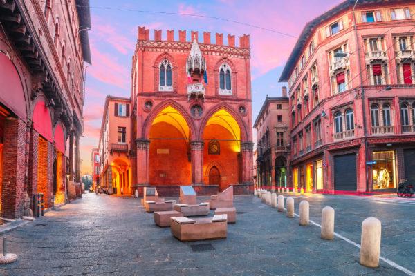 Italien Bologna Palazzo della Mercanzia