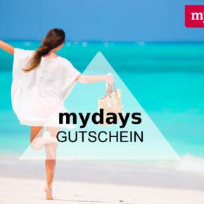 mydays Gutschein: 15 € auf Dein nächstes Erlebnis