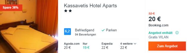 6 Tage Kreta Hotel