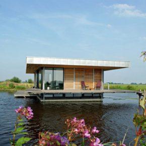 Wasser-Villa direkt im See: 1 Woche Luxus in den Niederlanden mit Sauna nur 221€