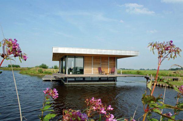 Hausboot Außen