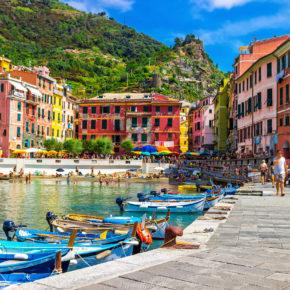 Buntes Italien: 8 Tage Cinque Terre mit Unterkunft & Flug nur 136€