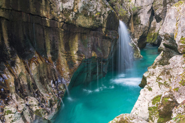 Slowenien Trivlav Nationalpark Soca Gorge