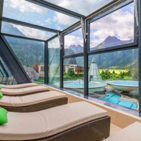 Aqua Dome Therme Ausblick